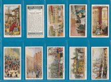 Collectable Cigarette cards set The Story of London 1934